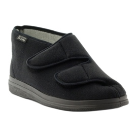 Befado obuwie męskie  pu 986M003 czarne 2