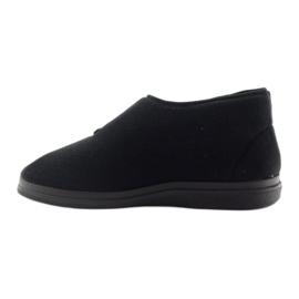 Befado obuwie męskie  pu 986M003 czarne 3