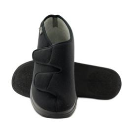 Befado obuwie męskie  pu 986M003 czarne 4