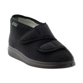 Befado obuwie damskie  pu 986D003 czarne 2