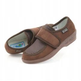 Befado obuwie damskie pu 984D010 brązowe 5