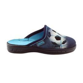 Befado obuwie dziecięce  707X381 granatowe 1