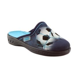 Befado obuwie dziecięce  707X381 granatowe 2