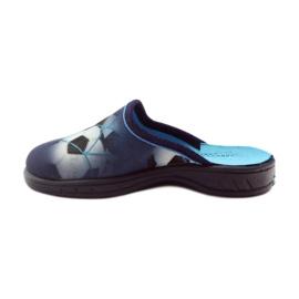 Befado obuwie dziecięce  707X381 granatowe 3