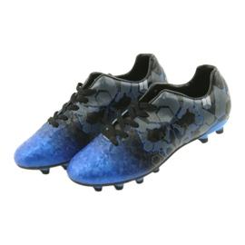 Sportowe korki Atletico 76520 mix kolor niebieskie 3