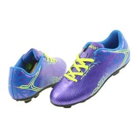 Sportowe korki chłopięce Atletico 76632 mix kolor fioletowe 5