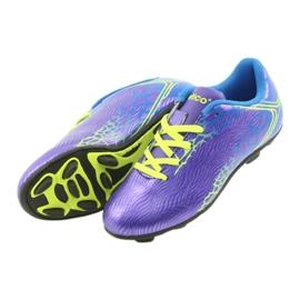 Sportowe korki chłopięce Atletico 76632 mix kolor fioletowe 4