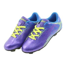 Sportowe korki chłopięce Atletico 76632 mix kolor fioletowe 3