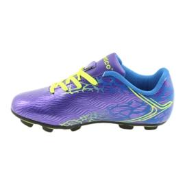 Sportowe korki chłopięce Atletico 76632 mix kolor fioletowe 2