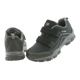 ADi Sportowe buty dziecięce softshell American Club czarne szare 6