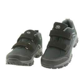 ADi Sportowe buty dziecięce softshell American Club czarne szare 4