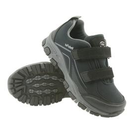 ADi Sportowe buty dziecięce softshell American Club czarne szare 3