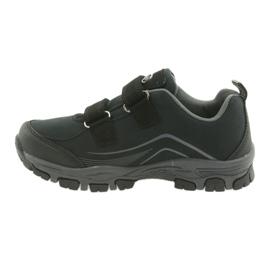 ADi Sportowe buty dziecięce softshell American Club czarne szare 2