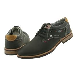 American Club Półbuty buty męskie wiązane Rhapsody RH 08/19 czarne 6