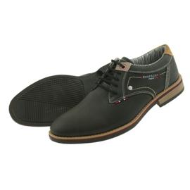 American Club Półbuty buty męskie wiązane Rhapsody RH 08/19 czarne 5