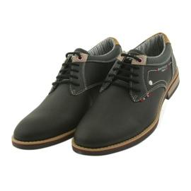 American Club Półbuty buty męskie wiązane Rhapsody RH 08/19 czarne 4