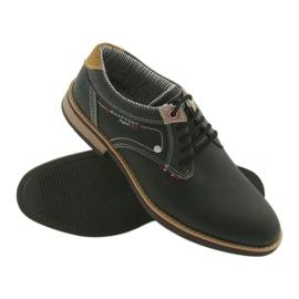 American Club Półbuty buty męskie wiązane Rhapsody RH 08/19 czarne 3
