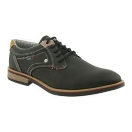 American Club Półbuty buty męskie wiązane Rhapsody RH 08/19 czarne 1