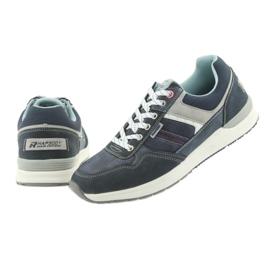 American Club ADI sportowe buty męskie jeansowe American RH17 5