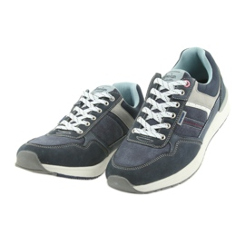 American Club ADI sportowe buty męskie jeansowe American RH17 3