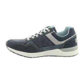 American Club ADI sportowe buty męskie jeansowe American RH17 2