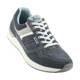 American Club ADI sportowe buty męskie jeansowe American RH17 1