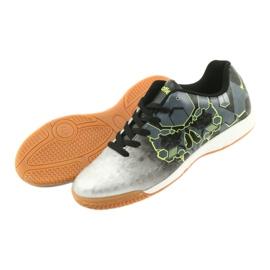 Buty halowe Atletico 76520 srebrny 4