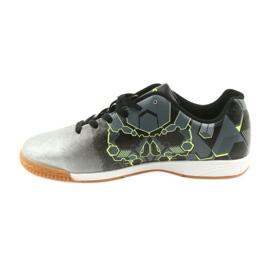 Buty halowe Atletico 76520 srebrny 2