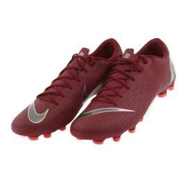 Buty piłkarskie Nike Mercurial Vapor 12 Academy Fg M AH7375-606 czerwone czerwone 4
