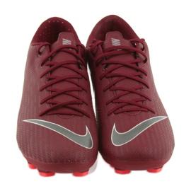 Buty piłkarskie Nike Mercurial Vapor 12 Academy Fg M AH7375-606 czerwone czerwone 3