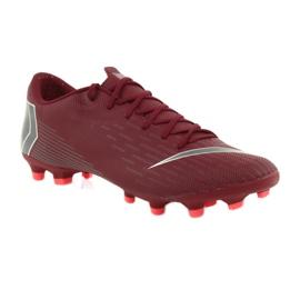 Buty piłkarskie Nike Mercurial Vapor 12 Academy Fg M AH7375-606 czerwone czerwone 1