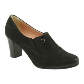 Buty czarne na obcasie Espinto P52/1 1