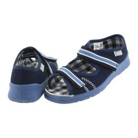 Sandałki buty dziecięce na rzepy Befado 969x101 granatowe 5