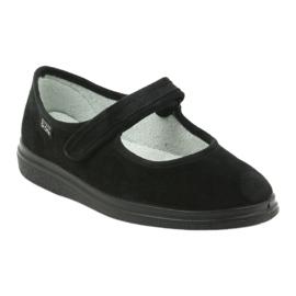 Befado obuwie damskie pu 462D002 czarne 2