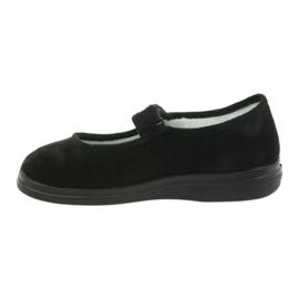 Befado obuwie damskie pu 462D002 czarne 3