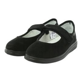 Befado obuwie damskie pu 462D002 czarne 4