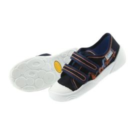 Befado obuwie dziecięce  907P094 granatowe 5