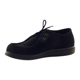 Befado obuwie męskie pu 871M004 czarne 3