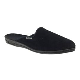 Befado obuwie męskie pvc 715M009 czarne 2
