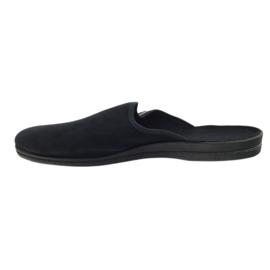 Befado obuwie męskie pvc 715M009 czarne 3