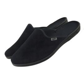 Befado obuwie męskie pvc 715M009 czarne 4