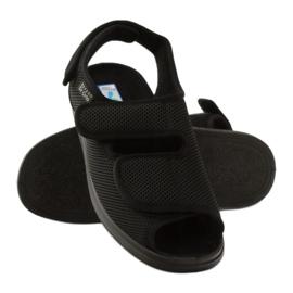 Befado obuwie męskie  pu 733M007 czarne 4