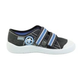 Befado obuwie dziecięce  672X059 szare 1