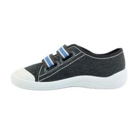 Befado obuwie dziecięce  672X059 szare 3