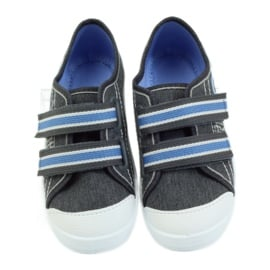 Befado obuwie dziecięce  672X059 szare 5