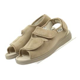 Befado obuwie damskie pu 676D004 brązowe 5