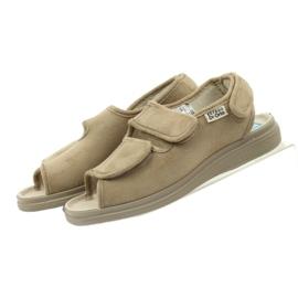 Befado obuwie damskie pu 676D004 brązowe 6
