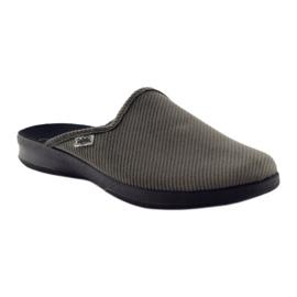 Befado obuwie męskie pu 548M008 szare 2