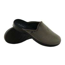Befado obuwie męskie pu 548M008 szare 4