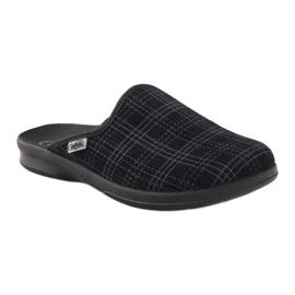 Befado obuwie męskie pu 548M003 czarne 2